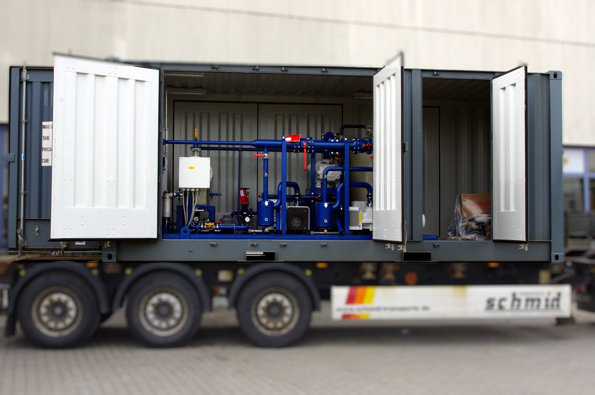 EOK Transformer Oil Purification Plant Container 3