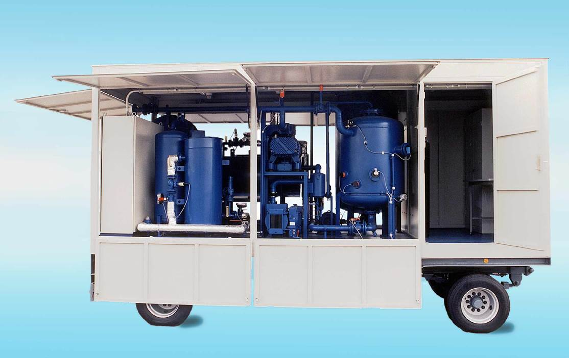 EOK Transformer Oil Purification Plant Trailer 1