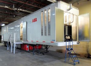 Transformer oil regeneration system trailer ABB 2