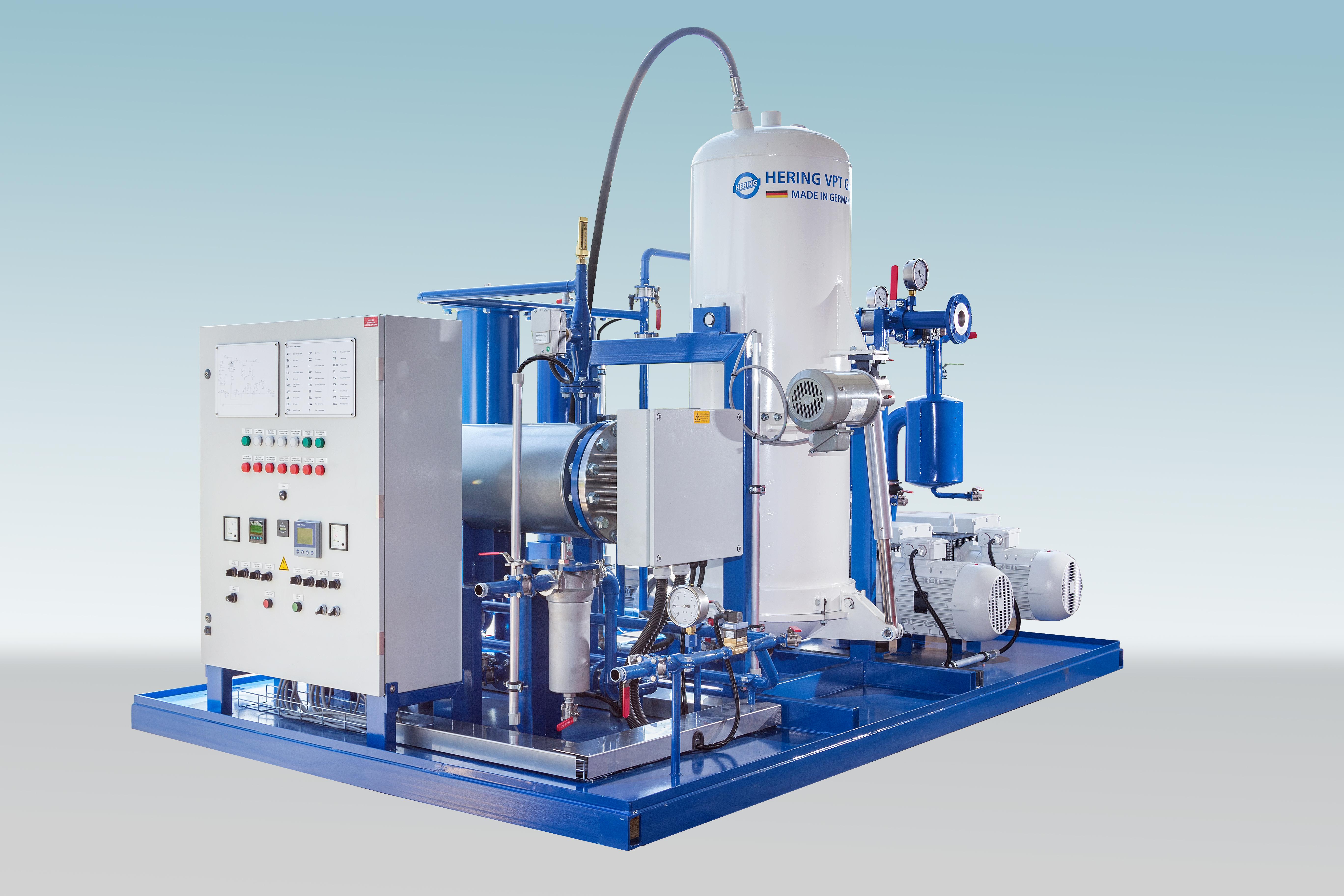 Hering EOK 3000 transformer oil degasification plant 1