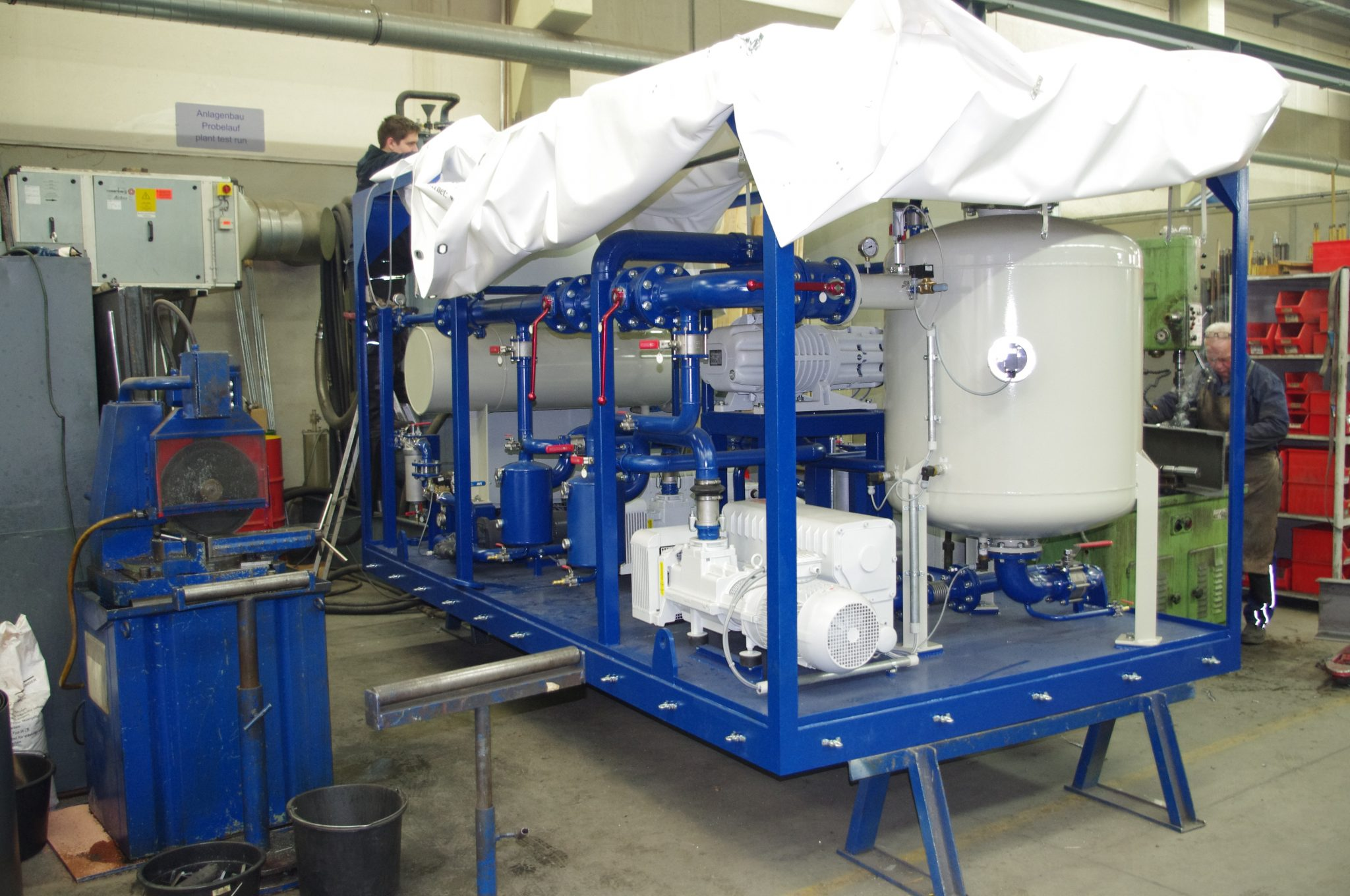 EOK Transformer Oil Purification Plant At German Workshop