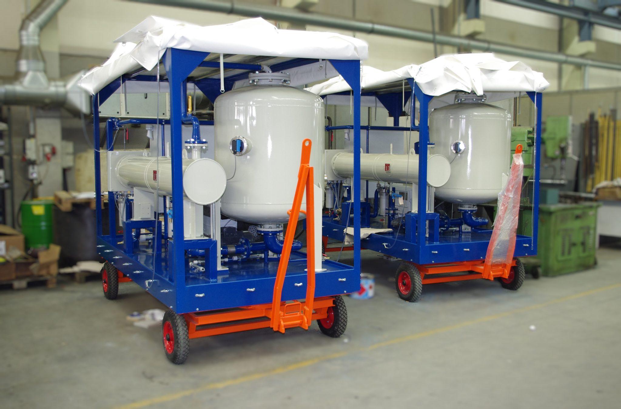 EOK Transformer Oil Purification Plant Canvas Trailer 3