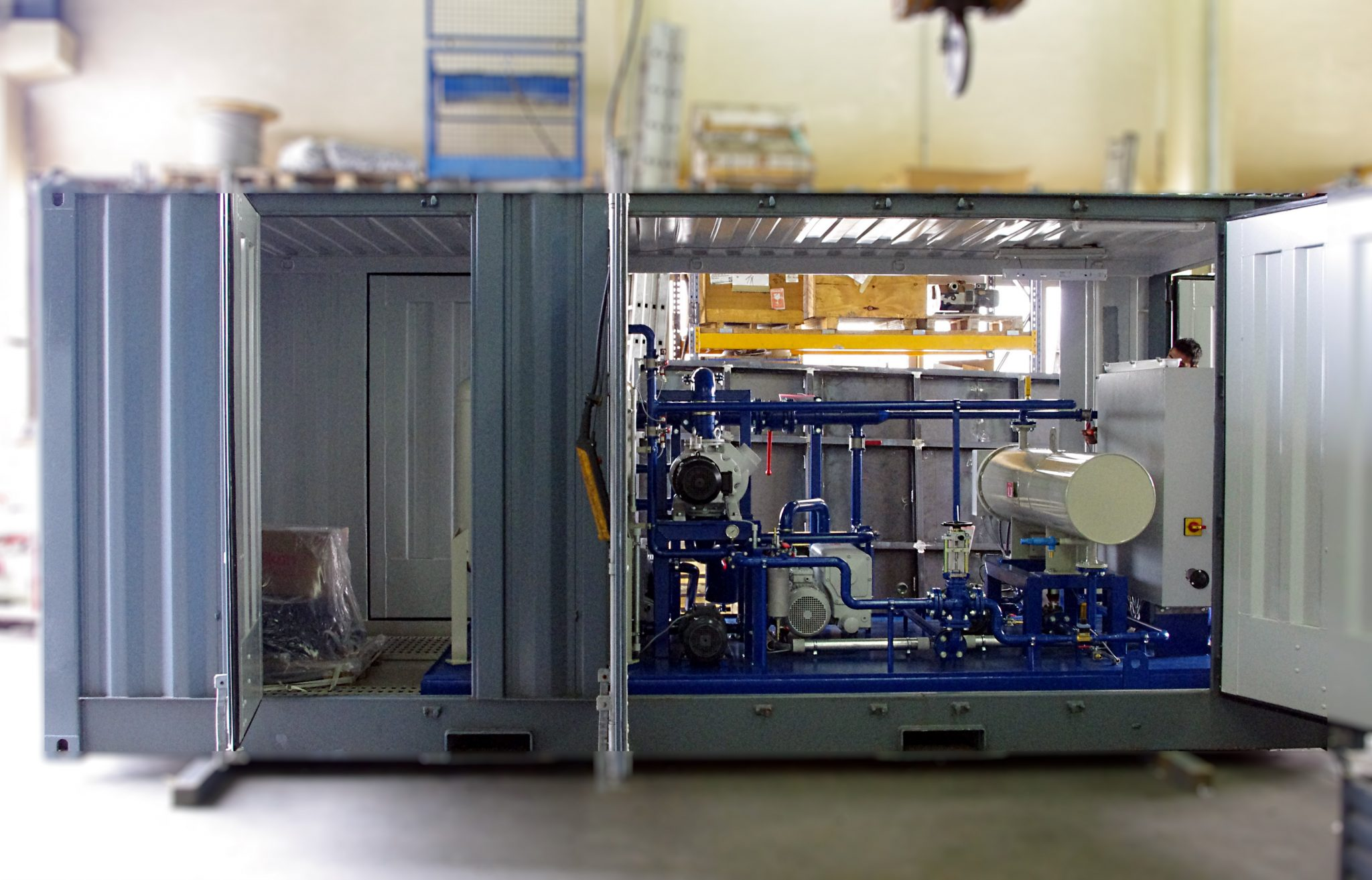 EOK Transformer Oil Purification Plant Container 1