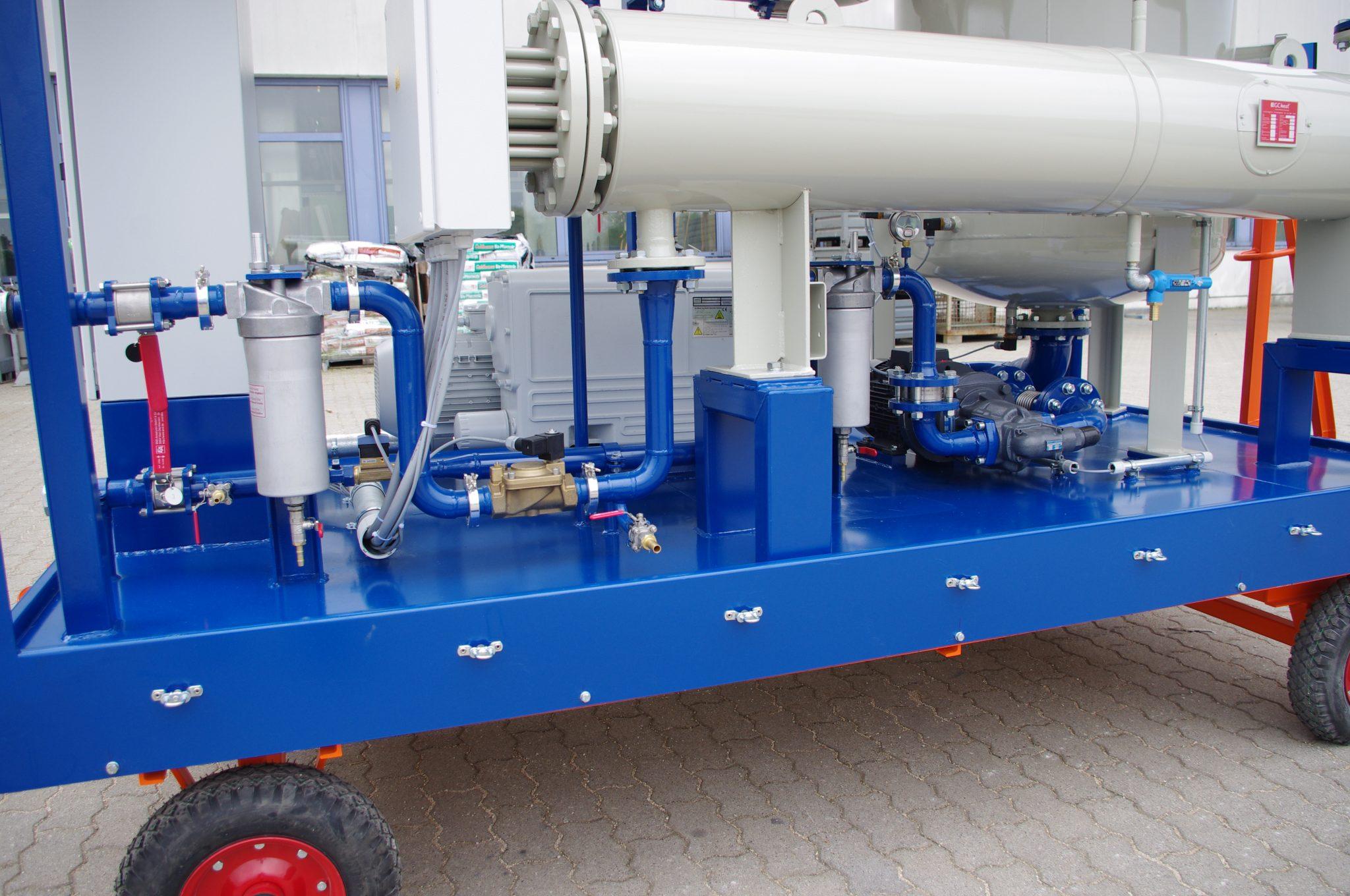 EOK Transformer Oil Purification Plant Detail 2