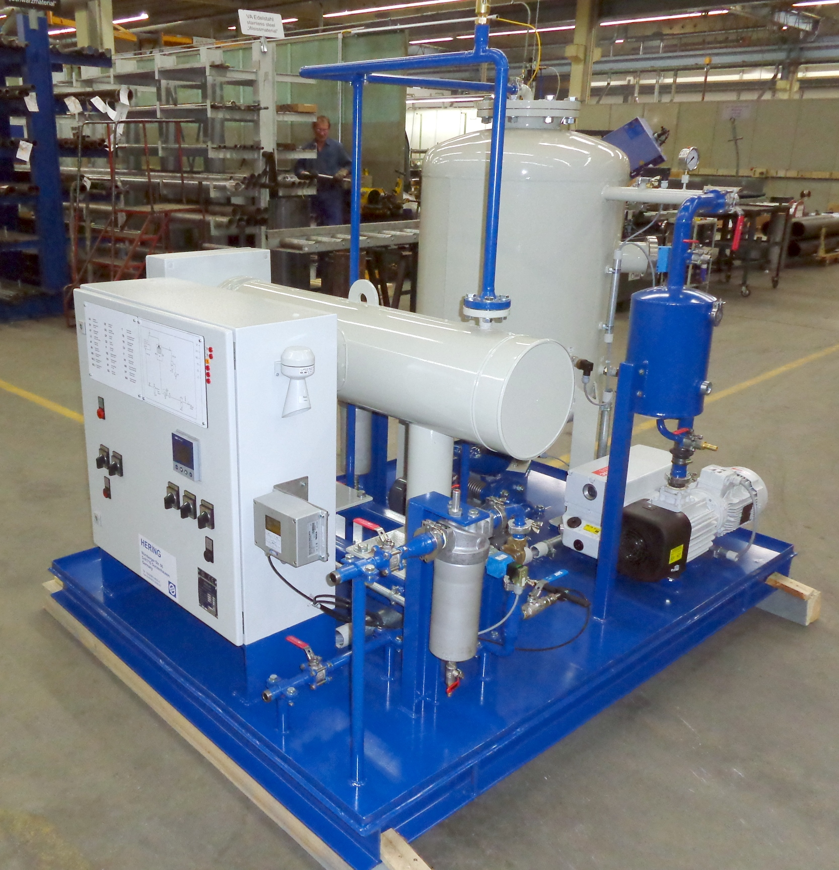 EOK Transformer Oil Purification Plant In Factory 1