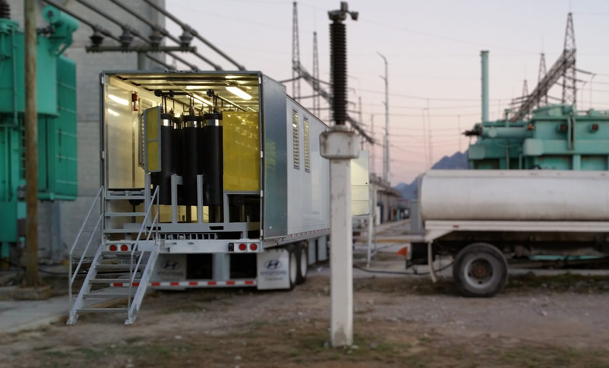 Online transformer oil regeneration system 1