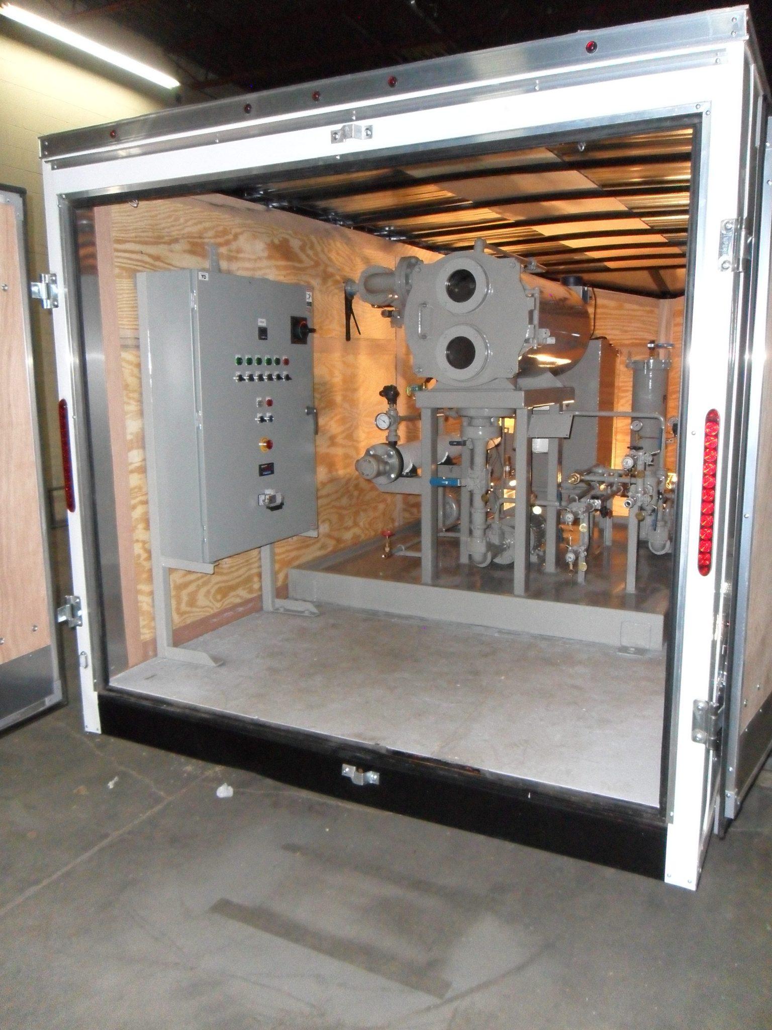 Transformer oil regeneration system trailer small 1