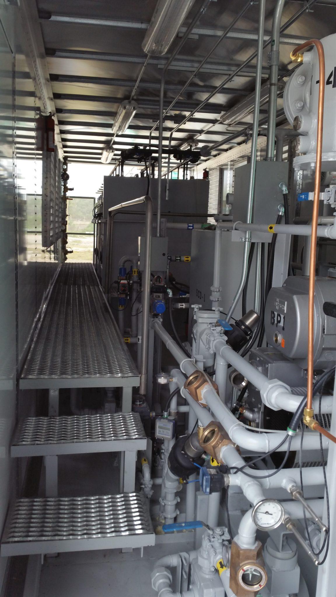 Transformer oil regeneration system trailer 3