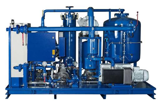 Transformer oil degasification plant skid 1
