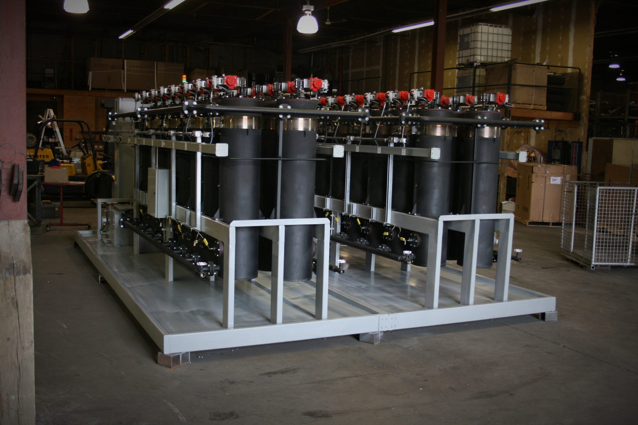 Stationary waste oil recycling modules 2