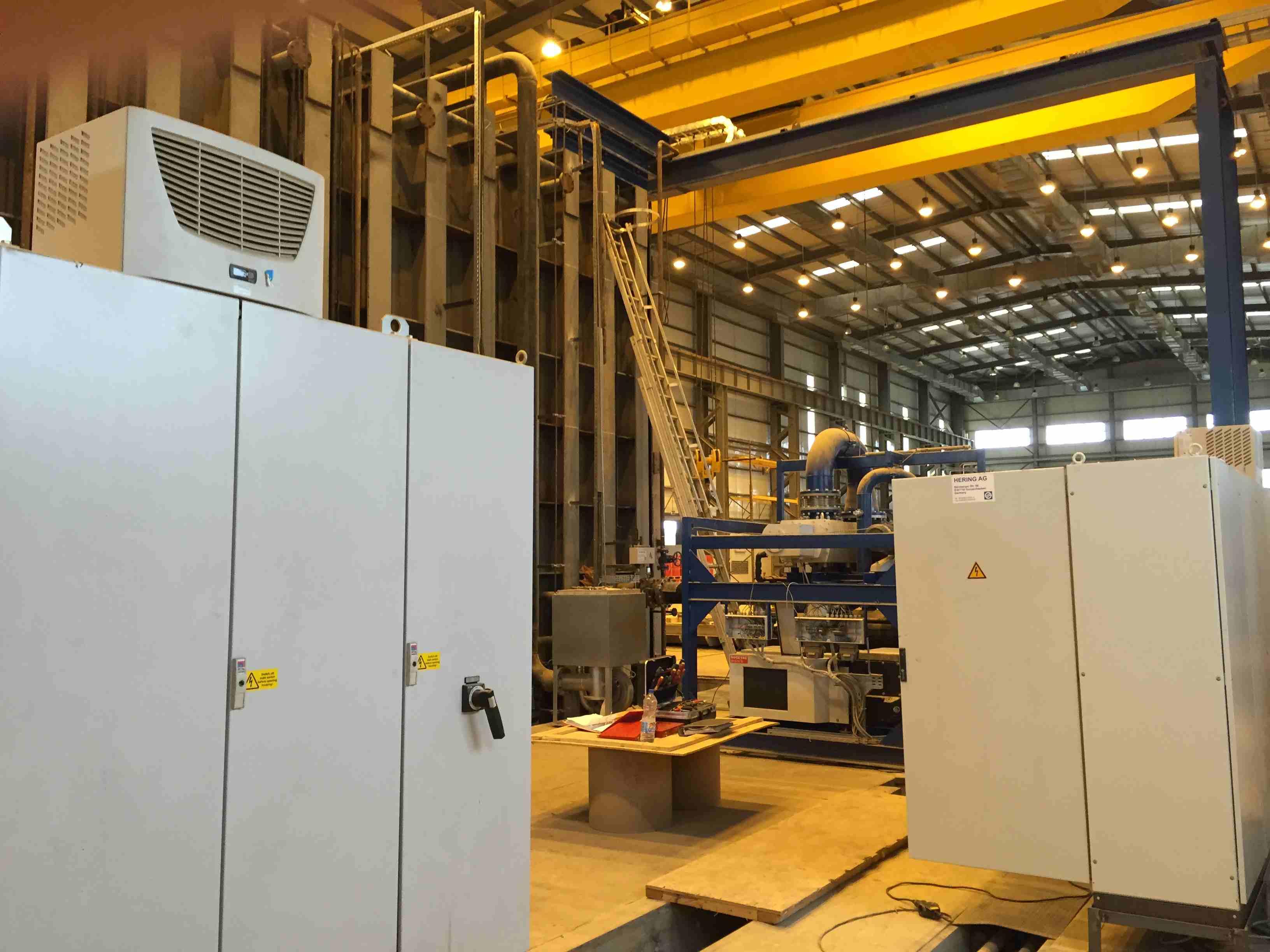 Large transformer vacuum drying chamber construction 4