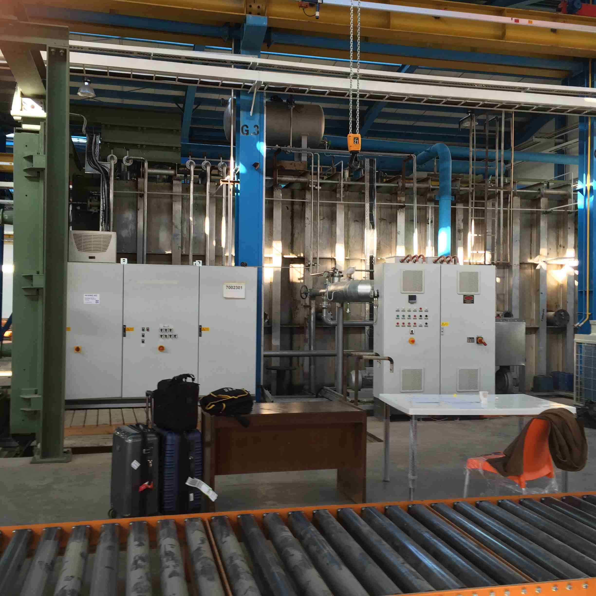 Hering transformer vacuum drying oven control panels 3