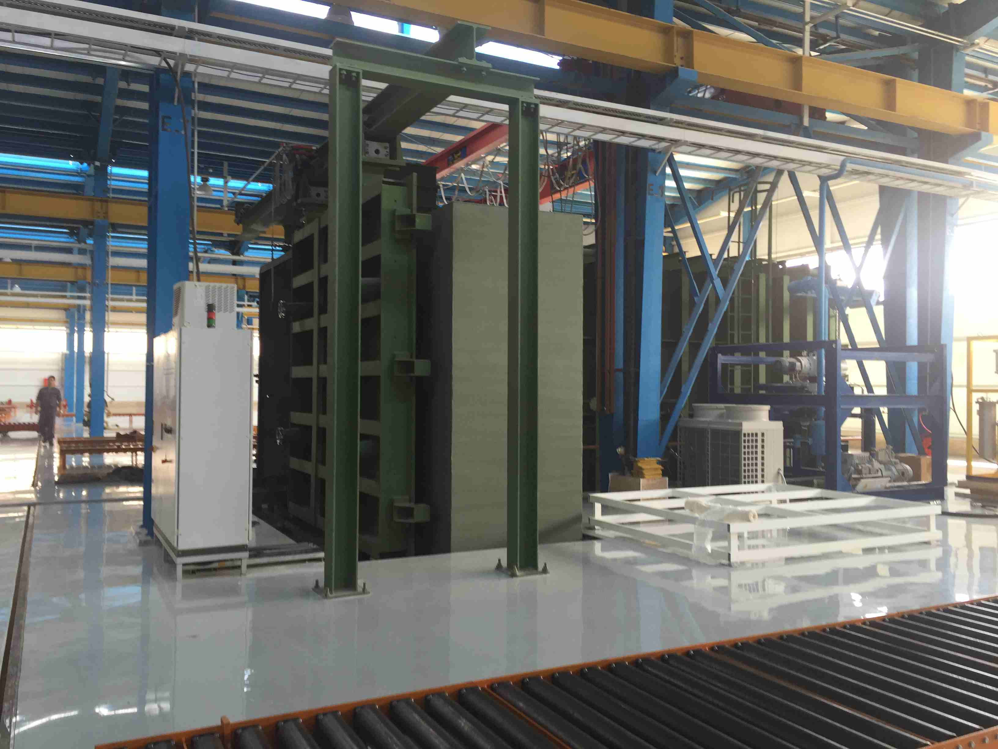 Hering transformer vacuum drying oven construction 1