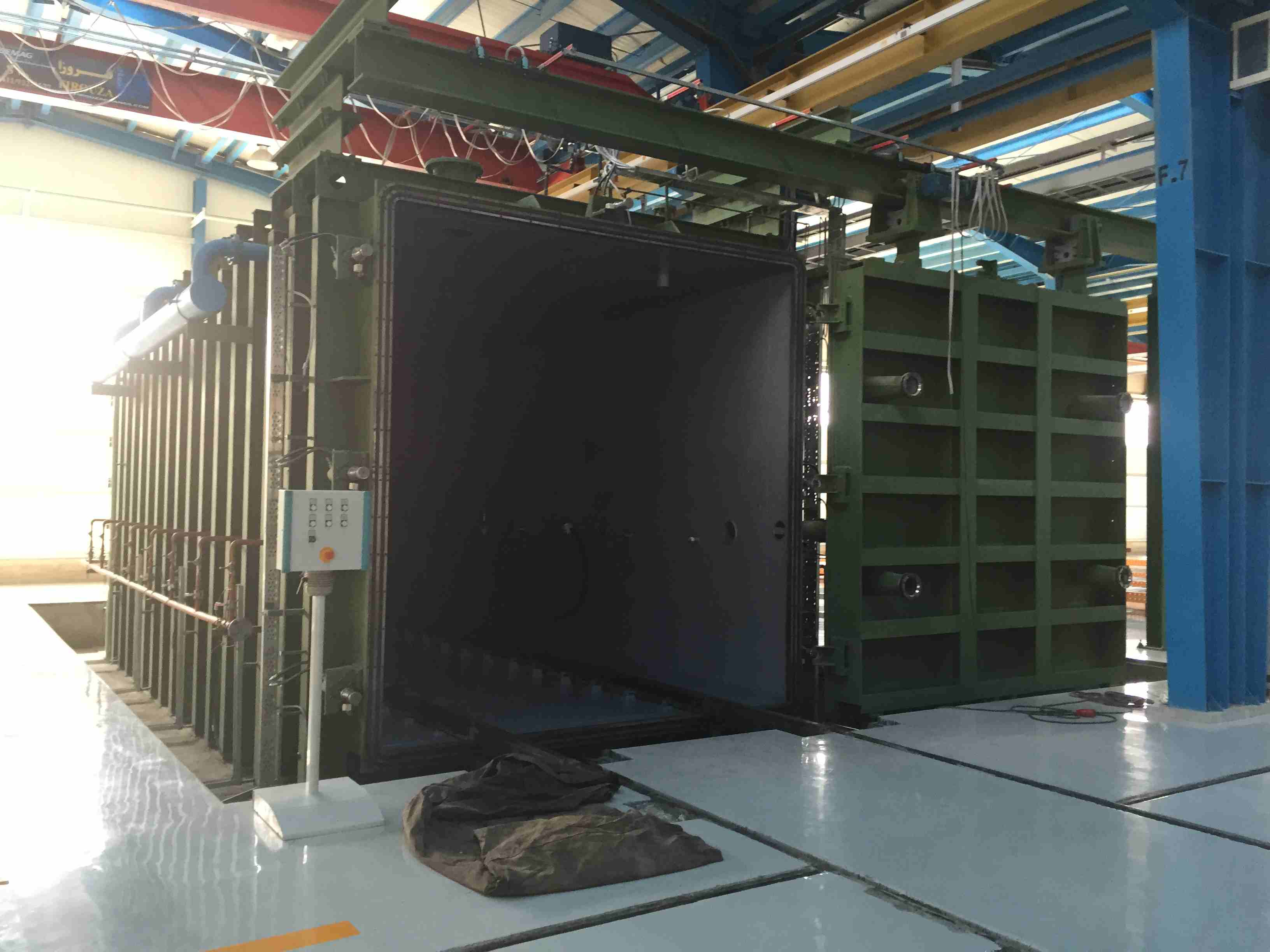 Hering transformer vacuum drying oven construction 5