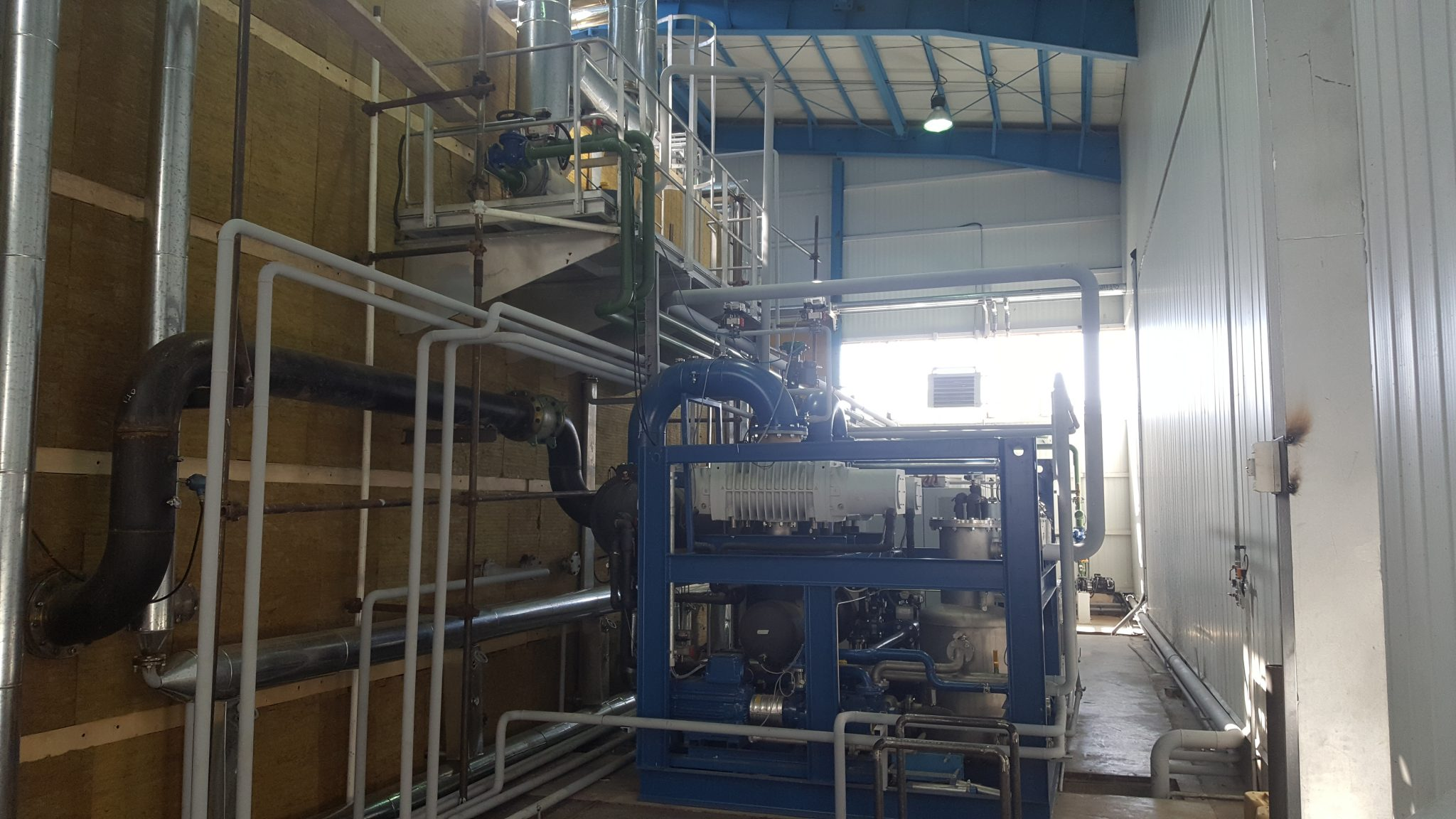 Hering transformer vacuum drying oven pumping station 2