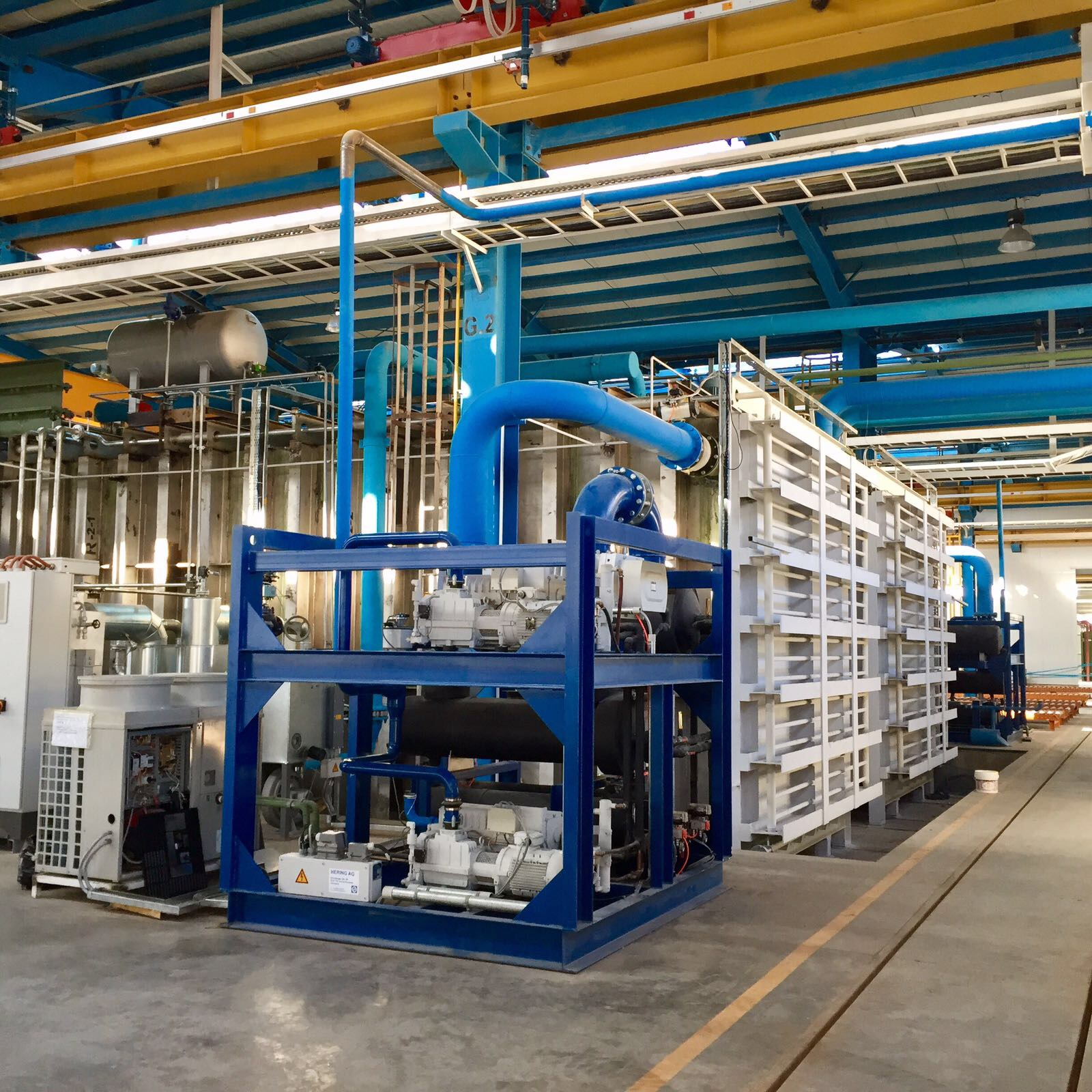 Hering transformer vacuum drying oven pumping station 1