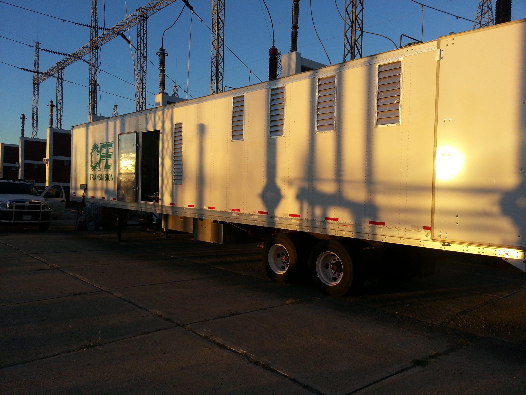 Transformer oil regeneration system trailer 1