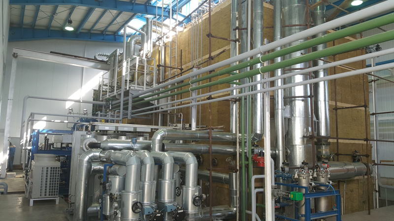 Hering transformer vacuum drying oven piping 1