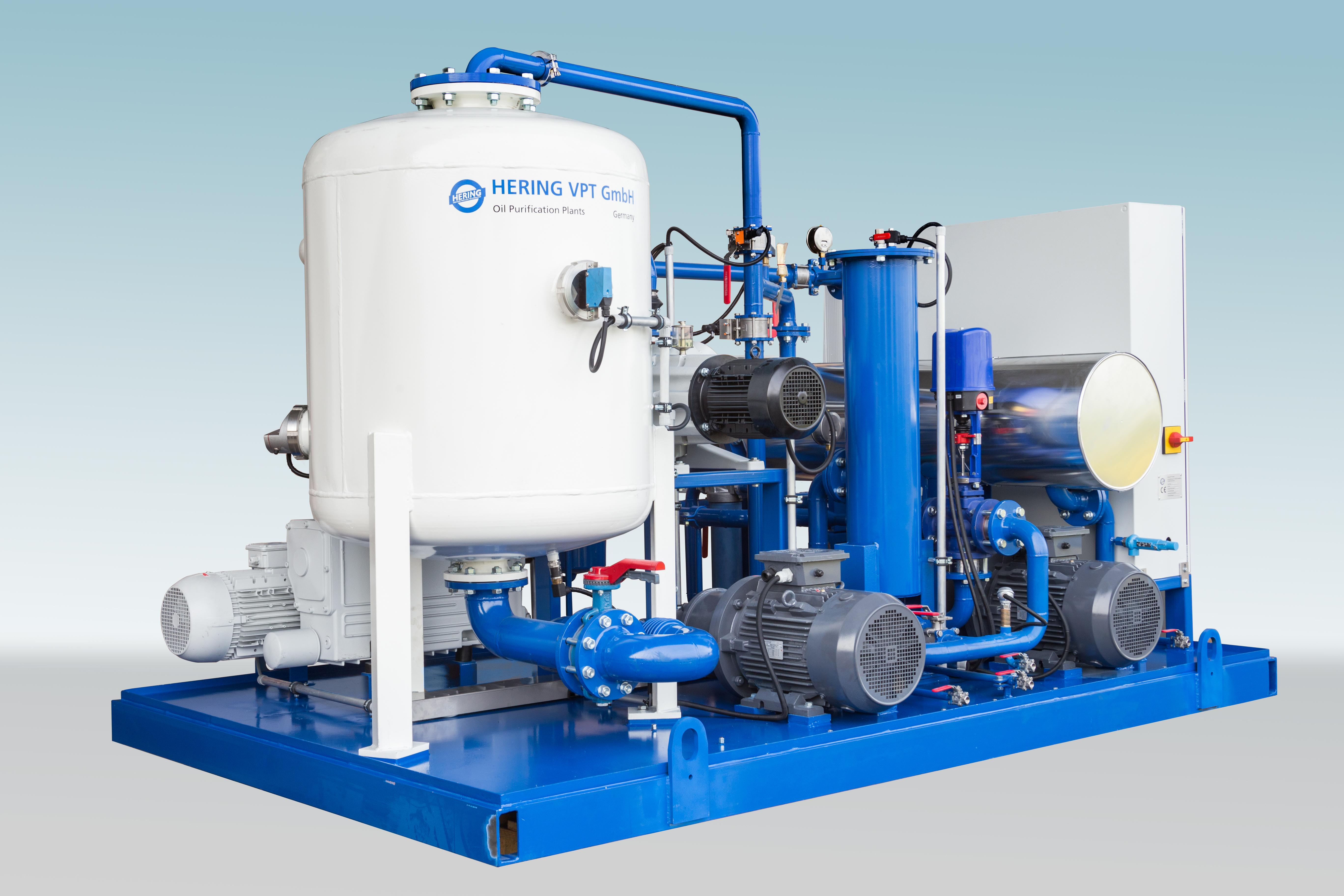Hering EOK 6000 transformer oil degasification plant 1