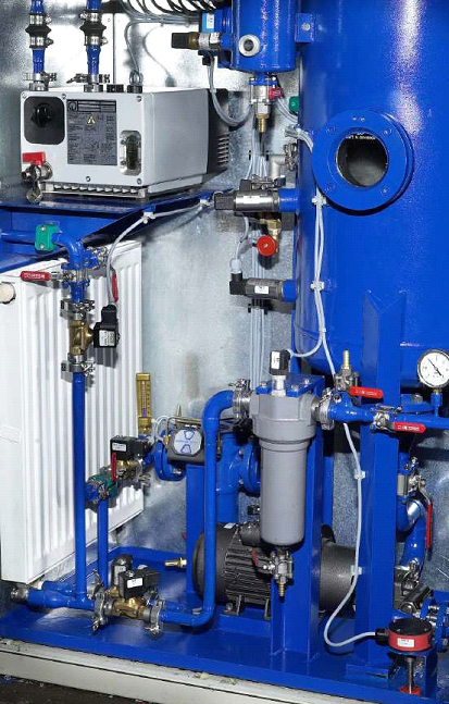 Online transformer degasification system 2