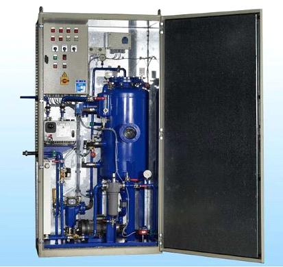 Online transformer degasification system 1
